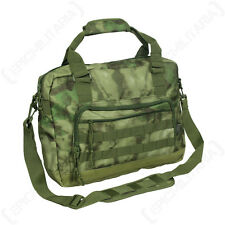 TACTICAL DOCUMENT BAG - MILTACS FG Military Laptop Case Holder Camo MOLLE New
