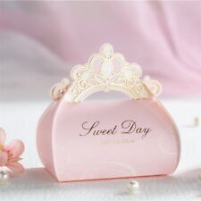 10Pcs Crown Candy Boxes Bags Wedding Birthday Party Baby Shower Favor Gifts Hot.