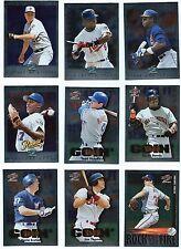 1997  Score Showcase  Baseball  19 Card LOT