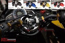 Honda PCX 150 Clamp Handle Bar Kit Set Support Squat Drag Mirror Fork Over Grip