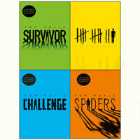 Tom Hoyle Thirteen Spiders Survivor and Challenge 4 Books Collection Set NEW
