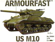 armourfast, 99004 US M10 (x2) ,American Army,  model kit, scale 1:72