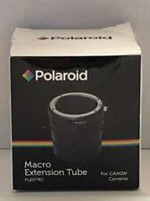 Polaroid Macro Extension tube For Canon Cameras Plextrc Digital SLR Camera