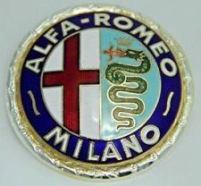 klassisch Alfa Romeo Lack lackiert Vorderes Emblem Logo Emblem BRANDNEU
