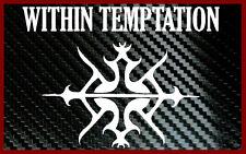 Within Temptation Logo Laptop Car Decal Vinyl Sticker