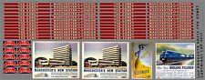 HEADBOARD & COACHBOARD SET - THE COMET ( LONDON - MANCHESTER ) HORNBY  ETC HD314