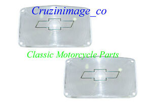 ◇ 1956 BelAir 210 150 Bowtie Parking lens Clear Both side include TP1387C