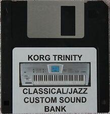 "Korg Trinity ""Classical/Jazz"" custom programs disk"