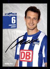 Christoph Janker Autogrammkarte Hertha BSC Berlin 2012-13 Original + A 147601
