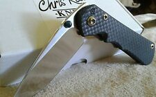 B005106 Custom Top Clone CR Inkosi Folding Knife CPM-S35VN Blade & Carbon Handle
