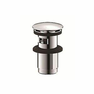DIETSCHE Pop-Up Ablaufventil Click Ventil  CHROM für Waschtisch mit Überlauf