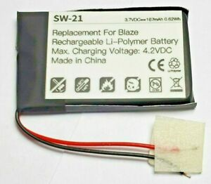 for Fitbit Blaze, Rechargeable Li-Polymer Battery 3.7 V, 167mAh, 0.62Wh