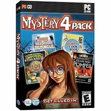 SEALED NEW Mystery 4-Pack Video Game PC Computer bermuda triangle pompeii island