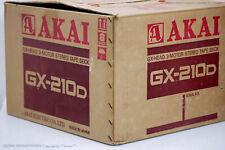 AKAI GX-210D Vintage Bandmaschine/Tonbandgerät Top in OVP! Serviced+1J.Garantie!