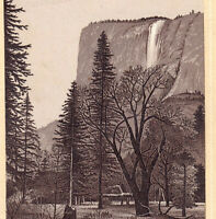 El Capitan 1890's Yosemite Valley National Park CA photo-style Coffee Trade Card