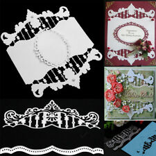 2Pcs/Lot Craft Metal Cutting Dies Scrapbooking Embossing Paper Card Decor Gift