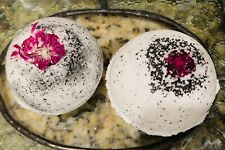 Activated Charcoal Hawiian Lava Salt Hemp Oil Bath Bomb 25mg