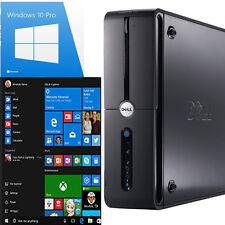 Computadora Pc Dell Ultra Rápido Torre escritorio Windows 10 Wifi 8GB Ram 1000GB HDD