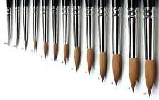 Winsor & Newton Series 7 Kolinsky Sable Artists Brushes  All Sizes Until 10
