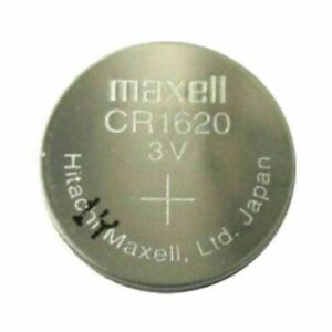 Maxell CR1620 3v  Lithium Button Cell Battery Fest fast Melbourne Shipping