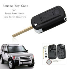 3 Buttons Remote Key Fob Case Shell With VL2330 Battery For Land Rover Discovery