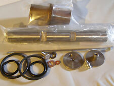"Norton Commando swing arm kit, Bushes, pin,  seal ""o""  rings , SS end caps & rod"