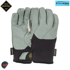POW Empress Gore-tex Leather Womens Snowboarding Skiing Mittens Gloves