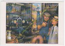 CP TABLEAU ROGER DUCROT Le garage à Arsène