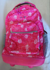 High Quality Rolling Backpack Bookbag Carry On Luggage With Wheels J World Aloha