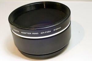 Anillo Adaptador AR-FX5A De 49mmA 55mm Parasol Filtro Fujifilm Finepix S5100