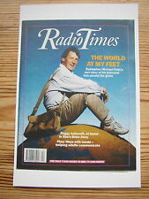 NEW Postcard Radio Times October 1989 Michael Palin Around the World in 80 days