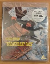 Breakheart Pass (Tom Gries, Charles Bronson) Blu-ray+DVD Import Zone B