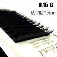 0.15 C Curl Individual Eyelash Mink False Eyelashes Fake Eye Lashes Extension