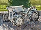 """Botanic Tractor""  ACEO by Jeff Atnip"