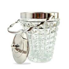 Deckeldose Eisbehälter Glas Dose Deckel Waffeloptik