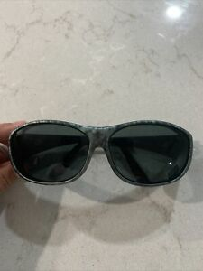 Cocoons Slim Line Sunglasses C4014G Gray Camouflage Camo Flex2Fit USA overx