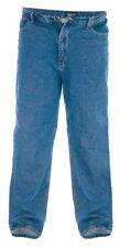 Mens Rockford Comfort Fit 100 Cotton Jeans Stonewash 40xl