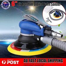 "Air Random Orbital Palm Sander 6"" 150mm Dual Action Auto w/ Vacuum tube & Wrench"