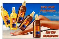 Eveline Amazing Dry SUN Oils Water Resistant SPF20 / 30 Deep Sun Tan Accelerator
