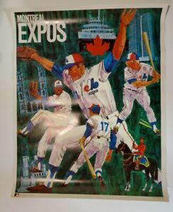 Original, Vintage Montréal Expos Poster 1968/71~Never Framed~ProMotions Inc