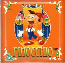DAILY MAIL ~ CHILDREN'S FAIRYTALE COLLECTION DVD'S ~ PINOCCHIO