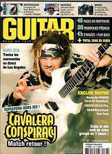 """GUITAR PART #168 """"Cavalera Conspiracy,Rodrigo Y Gabriela,Nada Surf"""" (REVUE)"""