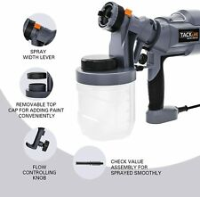 Electric Paint Sprayer Hand Held Spray Gun Painter Painting with 3 Size nozzles