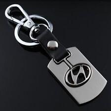 Alloy Metal Key Chain Ring for HYUNDAI i10 i20 Elite Santa Accent Eon Elantra