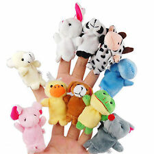 Animals Finger Puppets Cartoon Cloth Doll Hand Toy Cute Finger Toy Kids Toy Gift