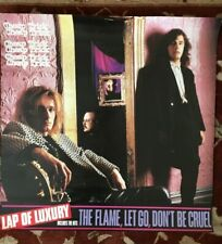 """Cheap Trick Lap Of Luxury rare original promo poster from 1988 large 30""""x30"""""""
