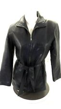 WILSON'S LEATHER WOMEN'S BLACK LEATHER JACKET SIZE M REALLY NICE!