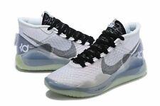 Nike Zoom KD 12 TB Kevin Durant Basketball White Black Mens Size 13 CN9518-100