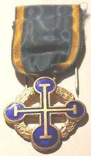 Authentic Antique Russian Revolution Order Ukraine Cross 1918 Award Medal