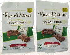 Russell Stover sans Sucre Caramel Confiserie Chocolat 89ml Sac ~ Lot de 2